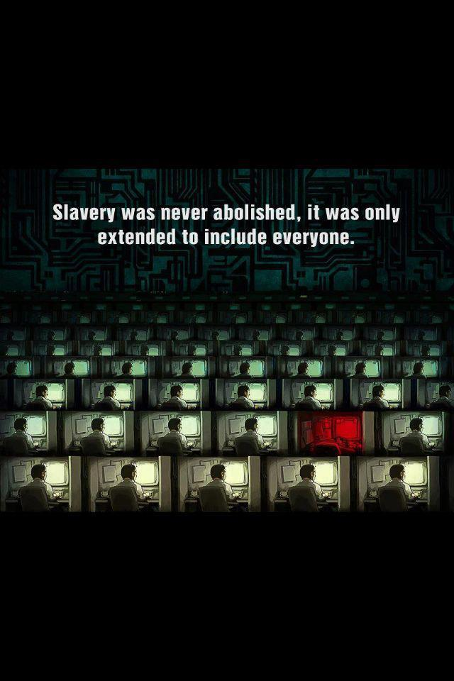 Slavery Never Abolished