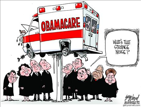 Political Blackmail Makes Obamacare Unassailable